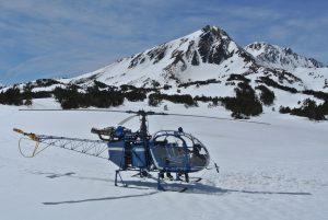 Hélico des neiges, La Quillane