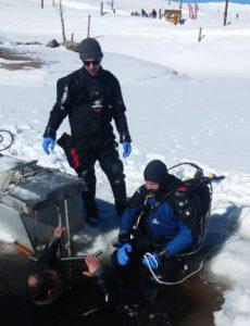 Plongée sous glace La Quillane