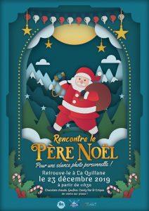 Père Noël @ Station de ski La Quillane