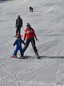 La Quillane pour apprendre à skier